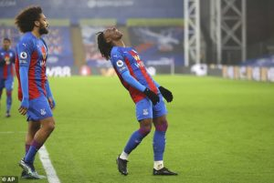 Eberechi Eze powers in winner For Crystal Palace As Wolves goes EIGHT games without a victory