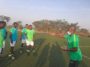 Eaglets coach Fatai Amoo targets opening day in WAFU U17 tournament