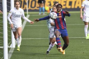 Asisat Oshoala bags brace again as Barcelona thrash Real Madrid