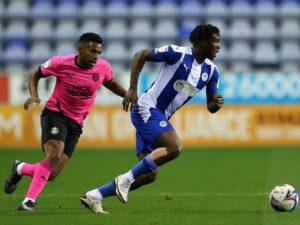 Wigan Atletics sign Super Eagles invitee Viv Solomon-Otabor