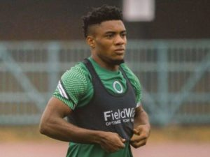 Olympiacos enquire about Enyimba star Anayo Iwuala