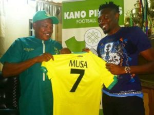 Kano Pillars move will help Ahmed Musa's form ahead 2022 WCQ, AFCON: Finidi George