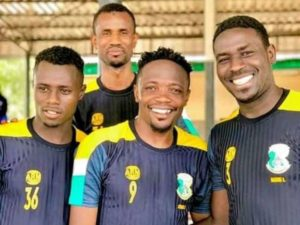 Musa trains with Kano Pillars for the first time