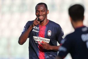Simy Nwankwo has quality to stay in Serie A: Crotone director