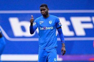 Onuachu happy to maintain scoring run vs Antwerp
