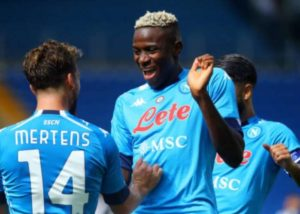 'Napoli forced to pay more for Victor Osimhen'