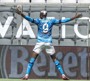 Osimhen score twice and Assists Napoli thrash Spezia