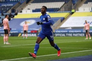 Iheanacho single-handedly keeping Leicester City's Champions League aspirations alive