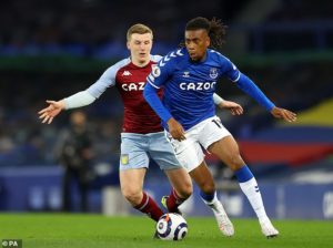 Iwobi desperate to add silverware to his CV at Everton after a taste of success with Arsenal