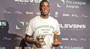 Super Eagles forward Paul Onuachu wins Belgian League Best Player & Golden bull awards