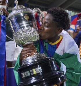 EXCLUSIVE! Barcelona star Oshoala linked with Manchester United move
