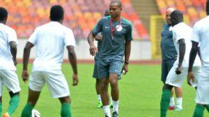 Sunday Oliseh drops hints of possible Super Eagles coaching return