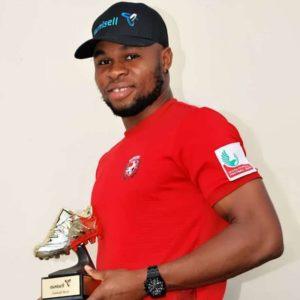 Rangers striker Israel Abia wins 2019/20 Eunisell Boot