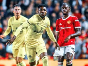Brentford boss hails Frank Onyeka after impressive debut vs Manchester United