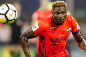 Super Eagles striker Aaron Samuel joins Turkish club from China