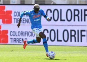 Victor Osimhen Scores As Napoli starts pre-season  with a win
