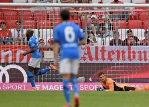 Osimhen with brace As Napoli beats Bayern at the Allianz Arena