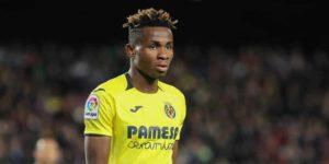 Emery rules Chukwueze out of Man Utd clash