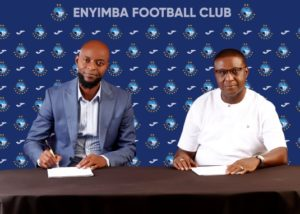 Finidi George Becomes Enyimba FC new Head Coach