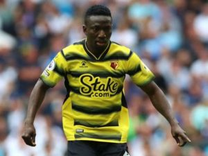 Etebo out of Watford vs Stoke City Carabao Cup tie