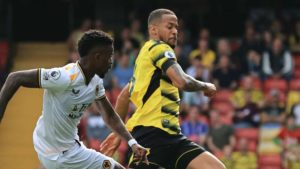 Super Eagles star laments Watford's frustrating home loss to Wolves