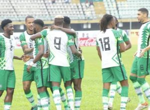Iheanacho's Double Ensures Victory For Nigeria Against Liberia
