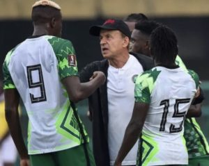 Coach Ubah expresses confidence in Super Eagles performance