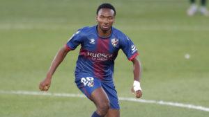 Kelechi Nwakali helps Huesca to a perfect win at Xabi Alonso's Real Sociedad