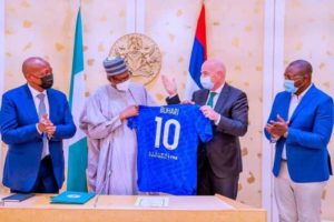We will use football to promote unity, national development- President Buhari