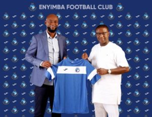 Ex Super Eagles winger Finidi George joins Enyimba FC as head coach