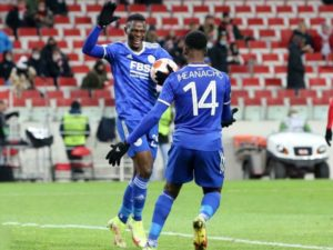 Iheanacho Assist As  Leicester City's comeback win vs Spartak Moscow