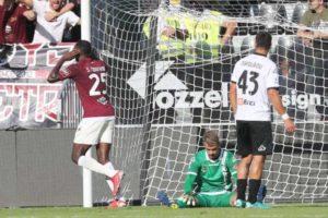 Nwankwo's opener not enough as Salernitana lose 2-1 to Spezia