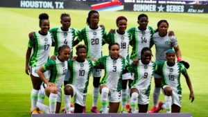Falcons begin camping in Lagos ahead clash with Black Queens