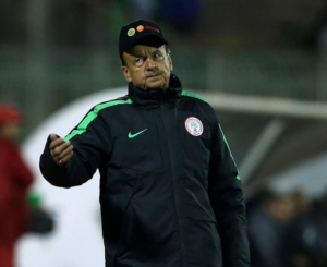 Exclusive! NFF Owe Rohr Eight Months Salary Ahead of WC Qualifier